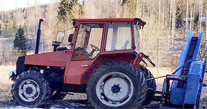 Traktori Ulkomailta